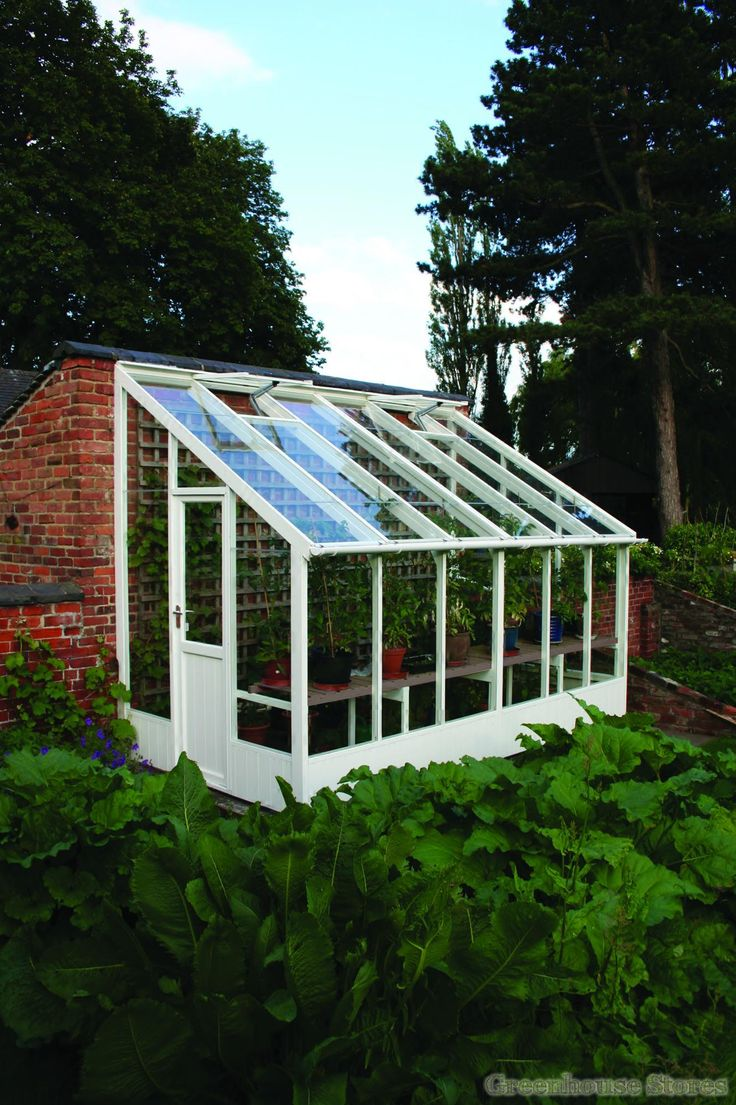 Wooden Lean To Greenhouse Kits