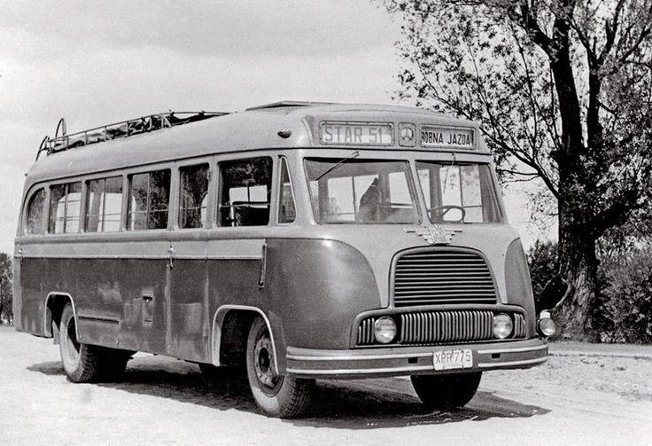 Autobusy Star-N51 (na fotografii) i Star-N52 wyglądały identycznie