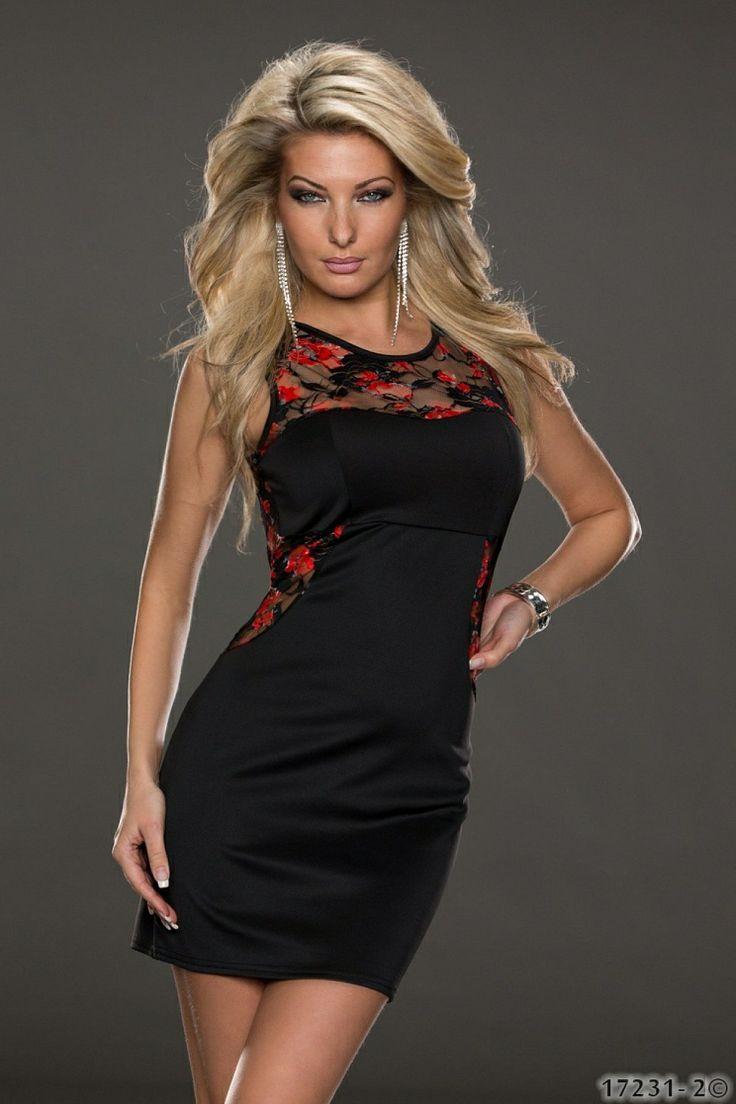 Rochie DelicateFloral Red >> Click pe poza pentru a vedea pretul. #rochii #rochiideseara #fashion #dress #rochiideocazie