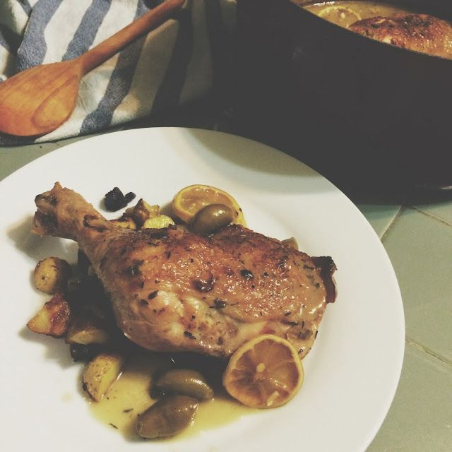 Braised chicken, White wines and Olives on Pinterest