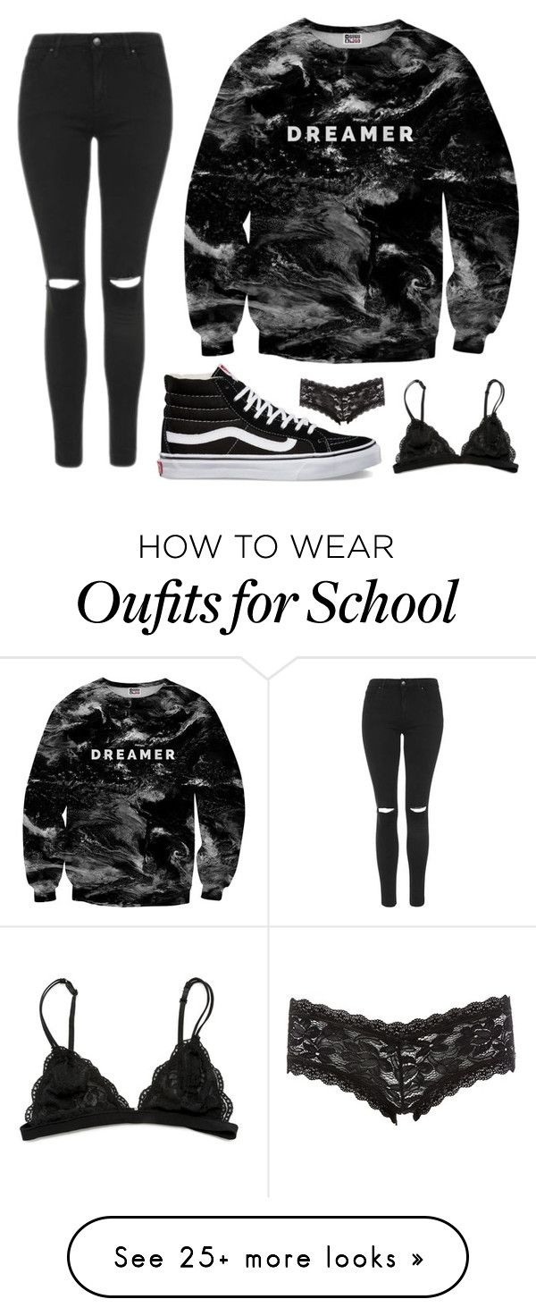 """Back To School"" by sheridan-kelly on Polyvore featuring Mr. Gugu & Miss Go, Topshop, Vans and Charlotte Russe"