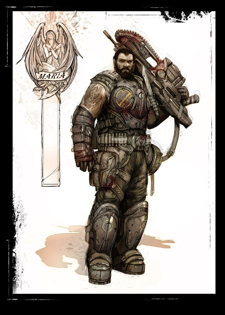 This is a depiction of the character Dom from the Gears of War franchise. This character has also transcended the world of video games and developed a following of his own as a character. That is where I find purpose, the thought of something I make, one day transcending their platform.