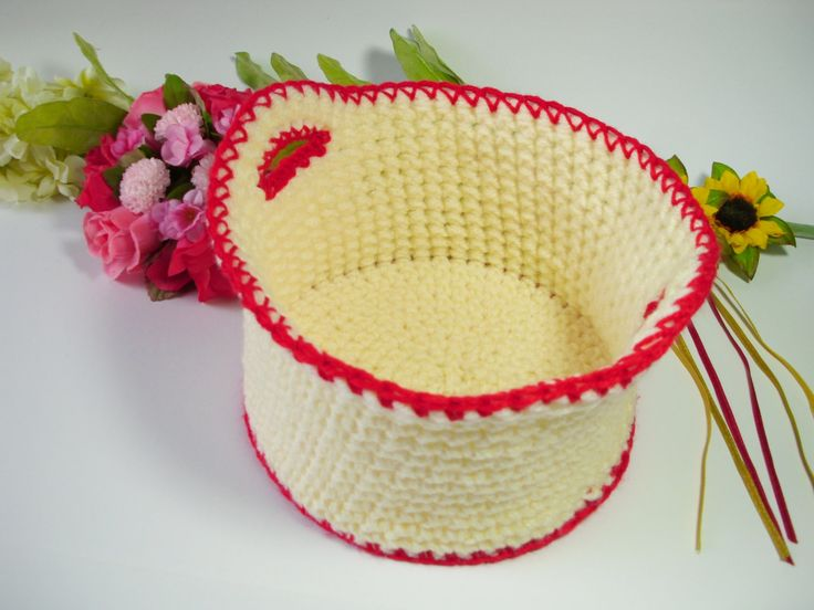 Storage basket crochet basket home decor crochet bin storage bin storage solution crochet yarn bowl bathroom storage crochet storage caddy  - pinned by pin4etsy.com
