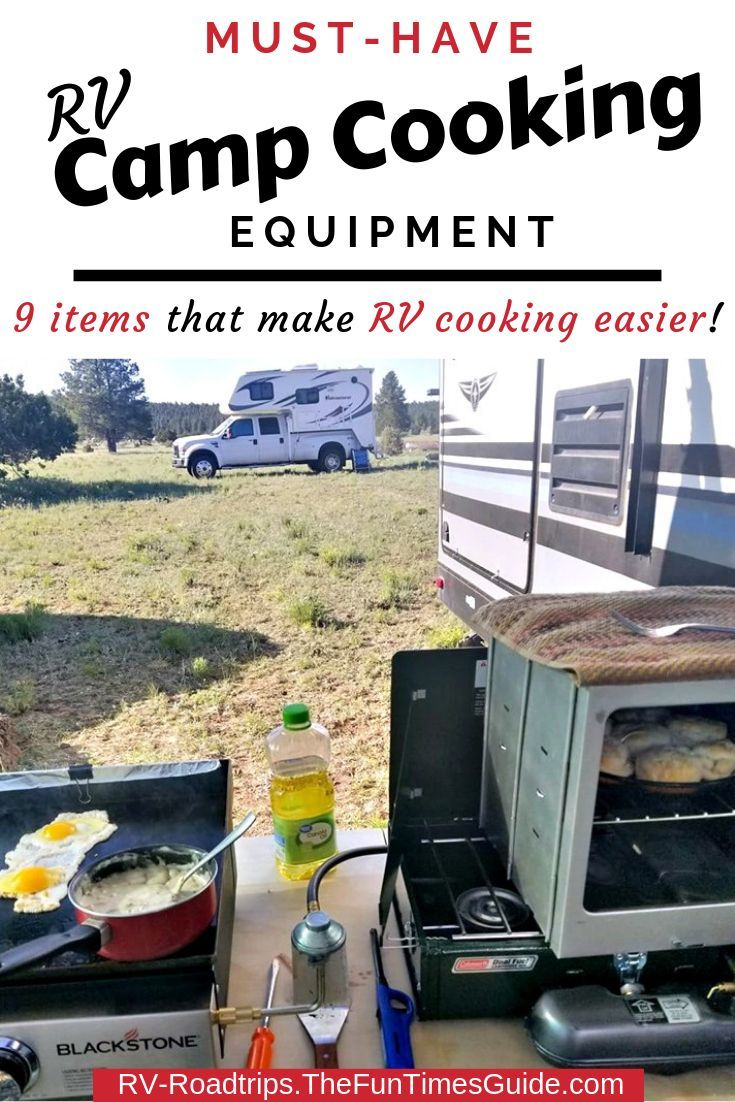 Camping Cooking Equipment For RVers: All The Best Camping