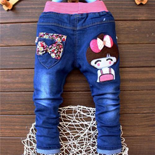 3024ddb509aec Clearance Sale Baby Denim Pants Fashon Elastic Waist Baby Boy Jeans ...