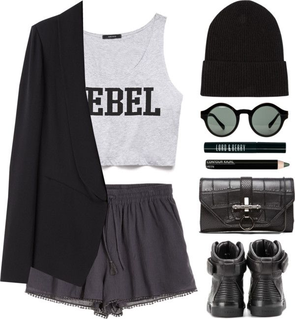 """Rebel"" by endimanche on Polyvore 