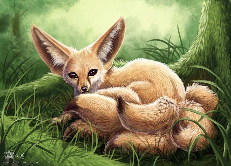 Fenech-kitsune by Azany