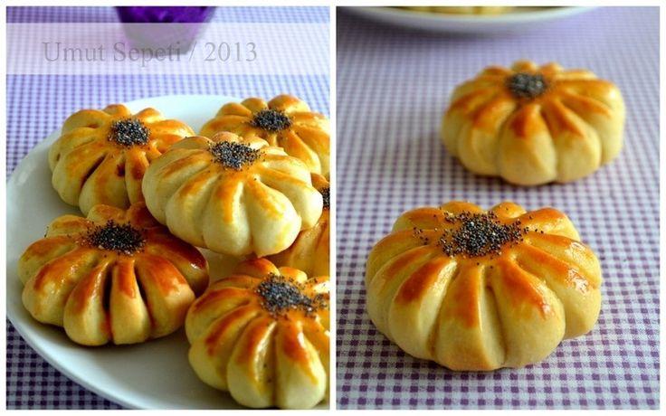 Umut Sepeti – Pratik Yemek Tarifleri – Çemenli Çiçek Çörekler