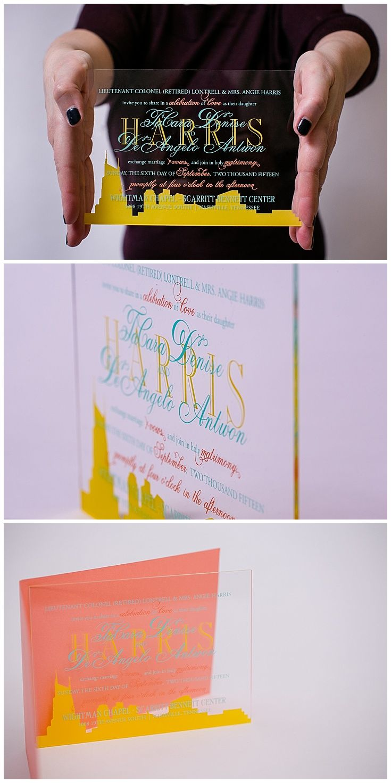 Lucite Wedding Invitations 42 best ACRYLIC INVITATIONS