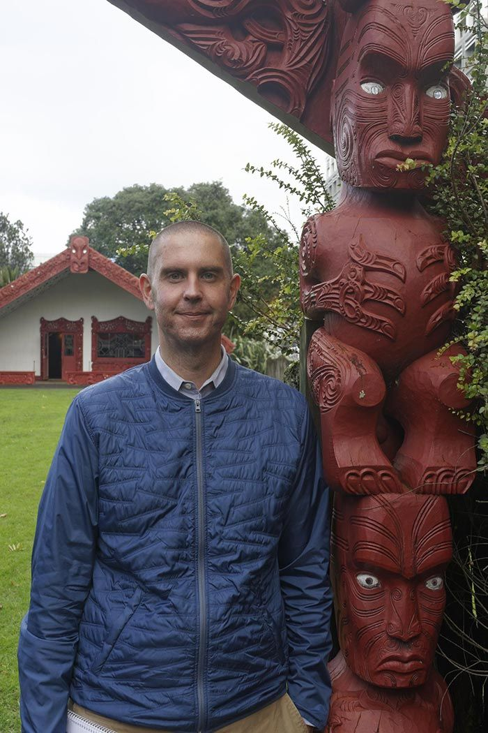 Image of author Damian Skinner