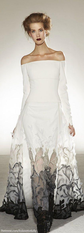 Beeldige trouwjurk met een eigen stijl! Georges Chakra Couture | S/S 2014