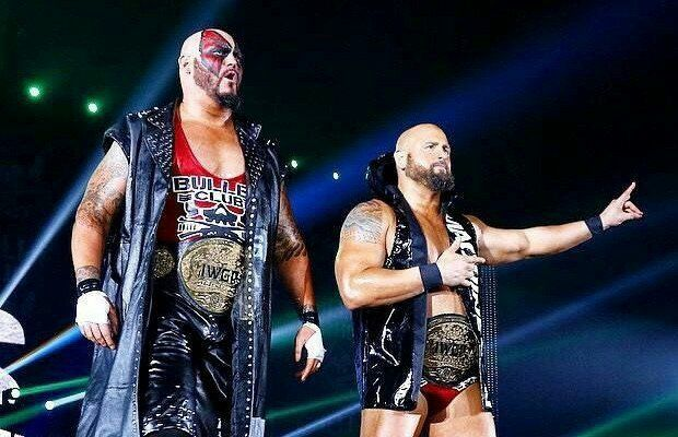 Bullet Club Members Luke Gallows & Karl Anderson IWGP World Tag Team Champions