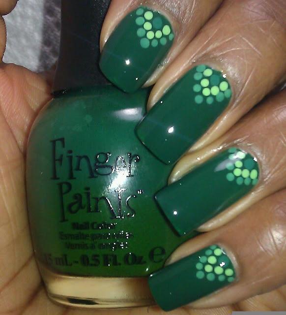 Finger Paints Scenery Greenery