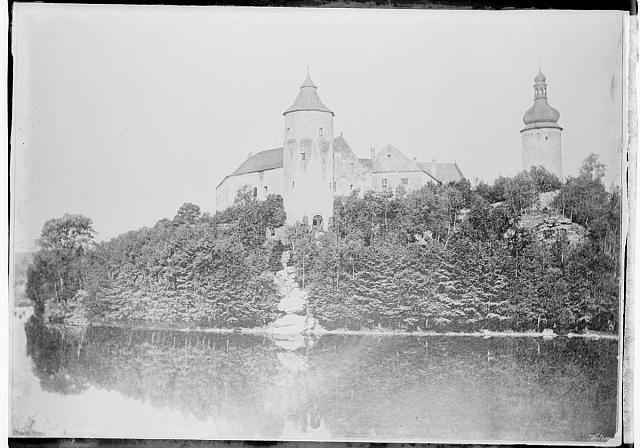 Žirovnice zámek  na obálce Žirovnice sign .168 inv.č. 531 Žirovnice