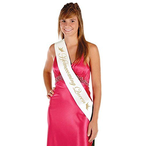 cheap price Homecoming Queen Satin Sash