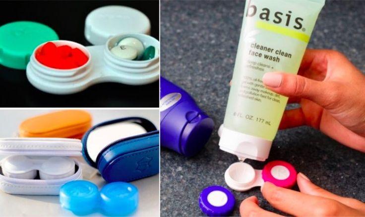 15 idées pour recycler pour vos vieilles boîtes à lentilles de contact