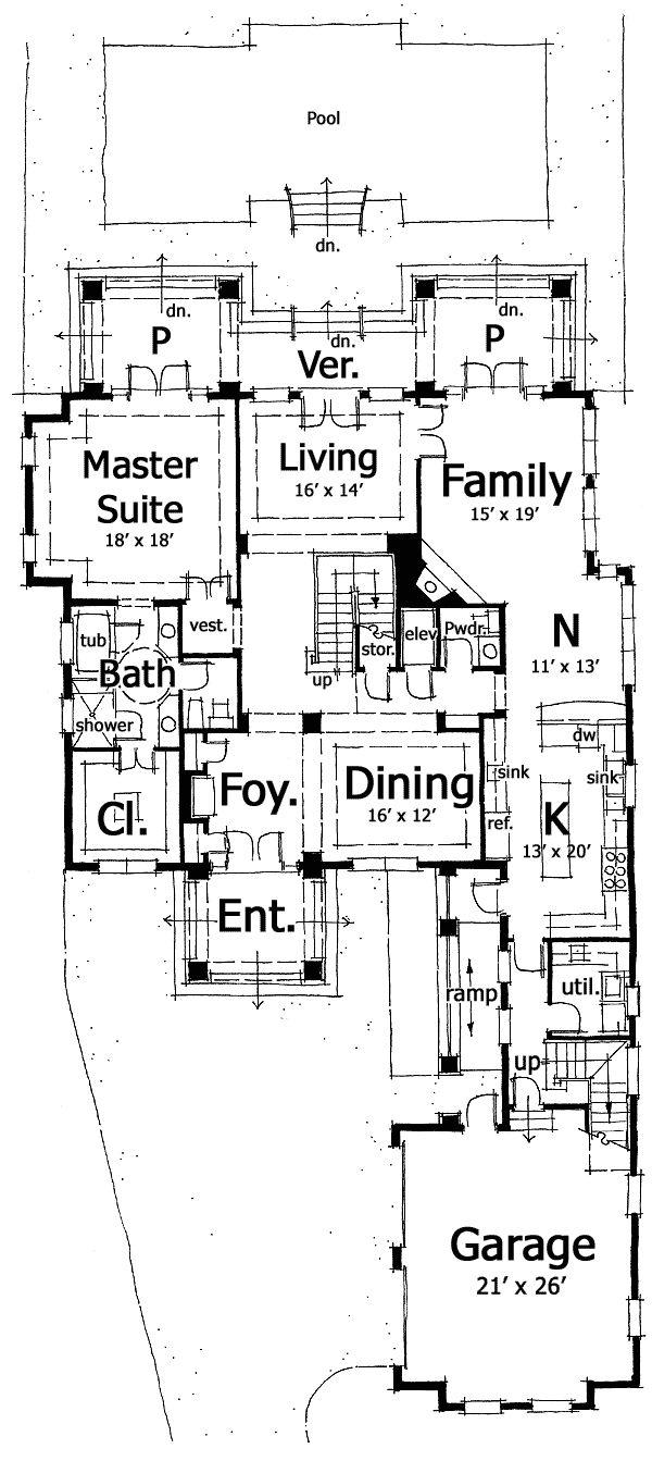 107 best architecture floor plans images on pinterest