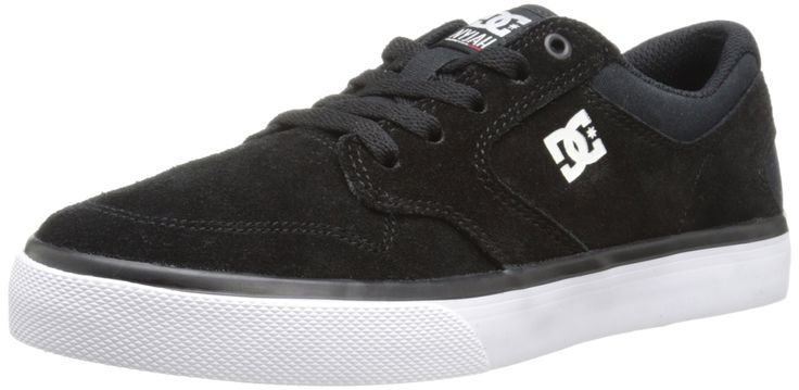 DC Nyjah Vulcanised Skate Shoe (Little Kid/Big Kid), Black/White, 13.5 M US Little Kid. Nyjah huston's second signature model rein spired in a vulcanized sole.