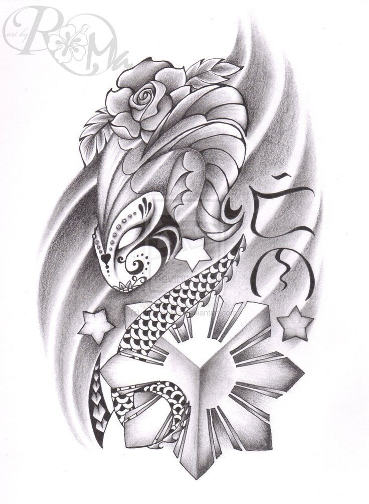 b2c8638c74573 Wonderful Filipino Tattoo Design #Filipinotattoos | Filipino tattoos ...