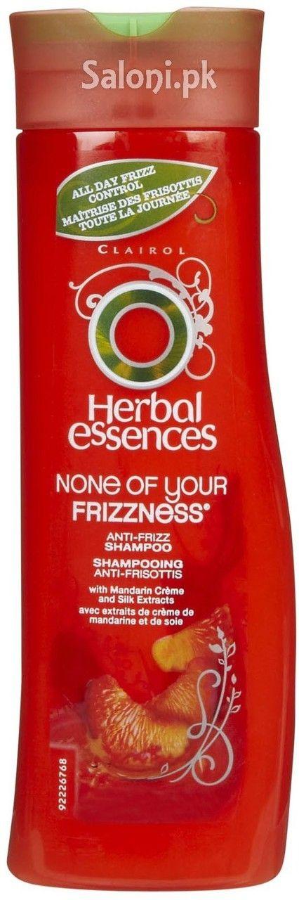 HERBAL ESSENCES NONE OF YOUR FRIZZNESS ANTI FRIZZ SHAMPOO Saloni™ Health