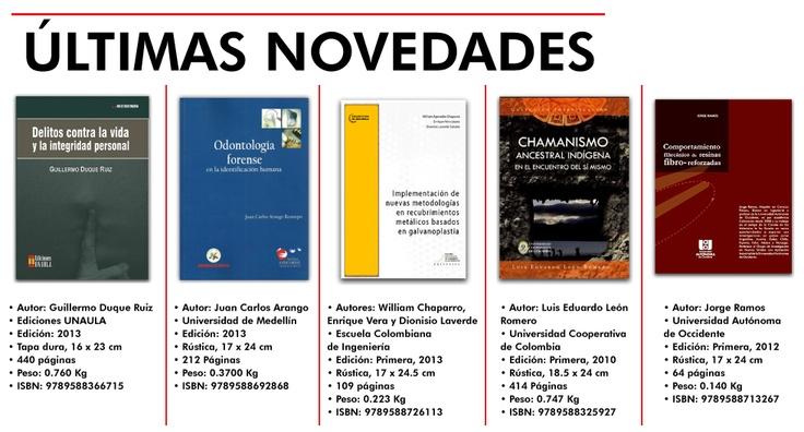 Nuestras novedades de esta semana, aquí www.librosyditores.com