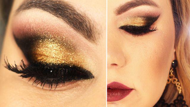 Tutorial – maquiagem com inspiração Indiana