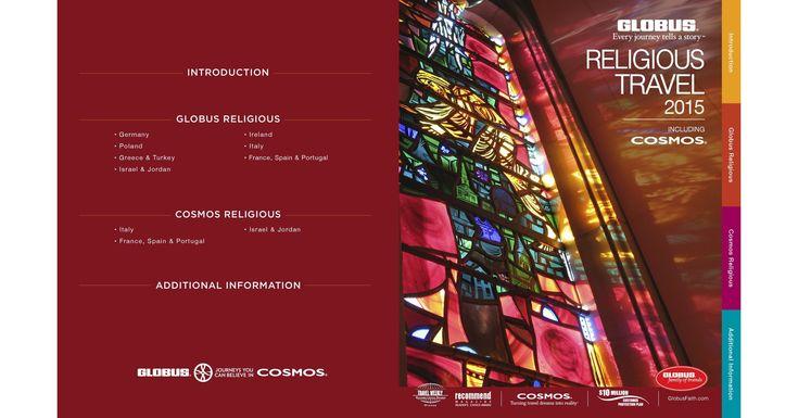 2015 Globus and Cosmos Religious BrochureContact your Globus tour - religious brochure