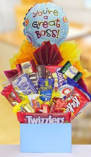 Great Boss's Day Goodie Bouquet (Boss's Day falls on Oct. 16 this year)