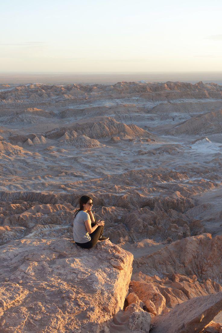 Valle de la Luna, Atacama, Chile  Nämä maisemat on lainattu nimensä mukaisesti kuusta, tai kenties Marsista. http://www.exploras.net/uudet-tekstit/#/10-ikkunaa-atacamaan-chileen/