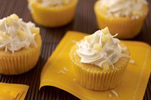 Petits gâteaux façon pina colada