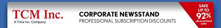 discount magazine subscriptions