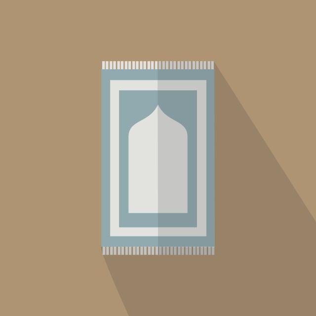 Download This Vector Prayer Mat Ramadan Flat Design Icon Png Or Vector File For Free Flat Design Graphic Design Background Templates Banner Template Design
