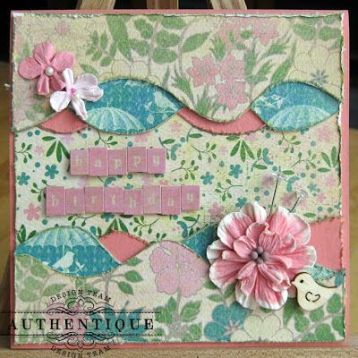 Authentique Paper: Spring cards with Kiwi Lane Designs!
