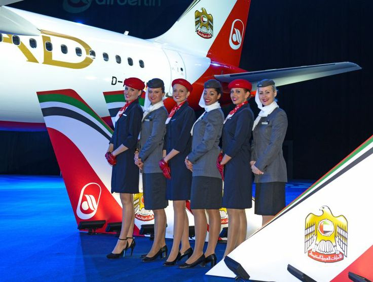 airberlin and Etihad Airways cabin crew