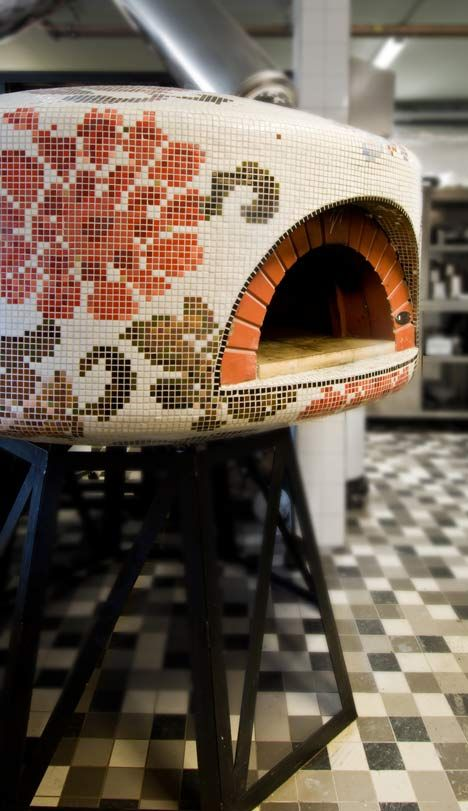 Fabbrica pizzeria completed by Dutch design studio Tjep.