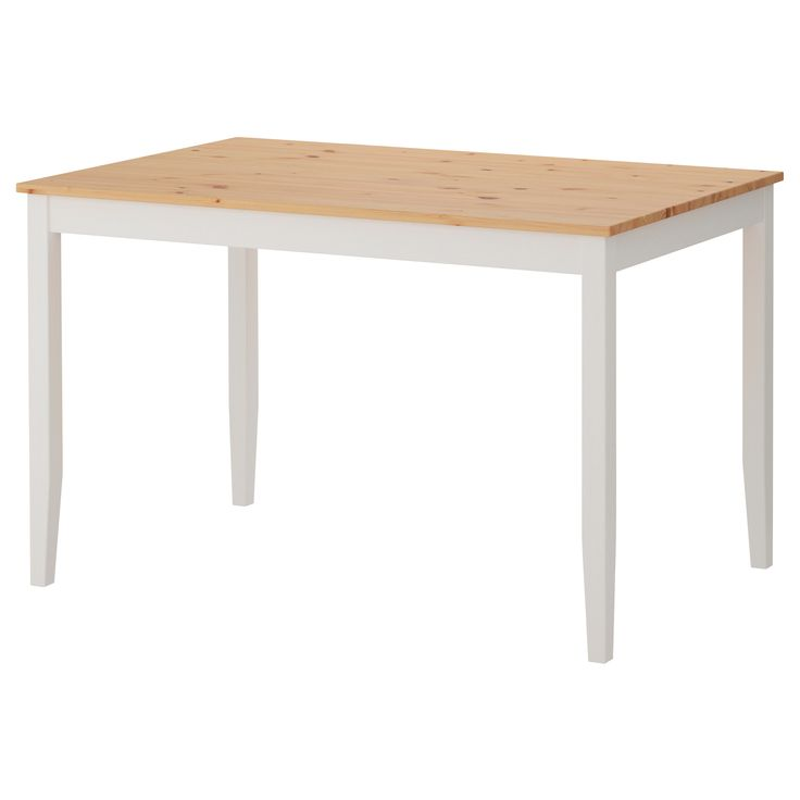 "LERHAMN Table - IKEA Product dimensions Length: 46 1/2 "" Height: 28 3/4 "" Width: 29 1/8 """