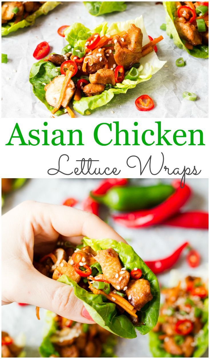 Best 25+ Chicken lettuce wraps ideas on Pinterest | Asian ...