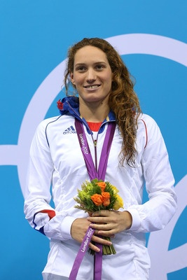 Camille Muffat, #France #topswimmers