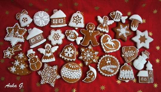 Pequenos panes de miel: cocer los dulces de varias formas, la decoración