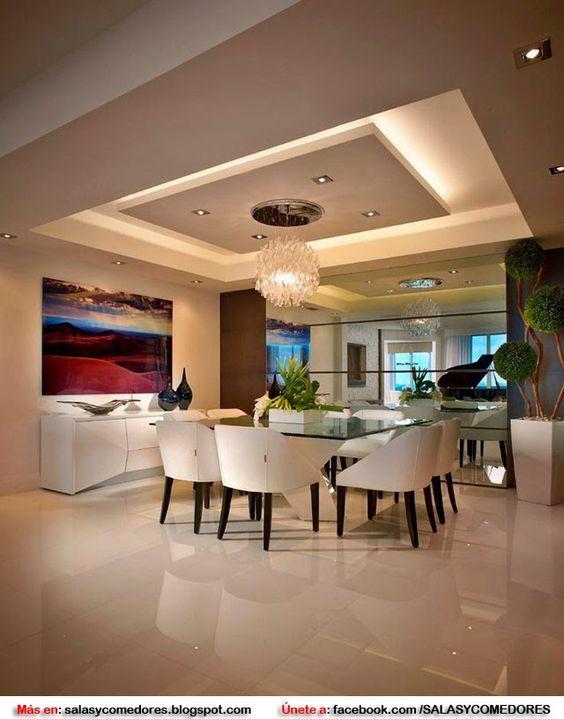 M s de 25 ideas fant sticas sobre iluminaci n del hogar en - Muebles de escayola modernos ...
