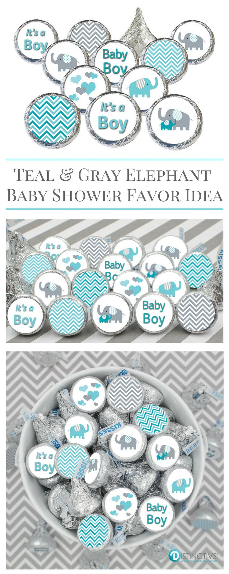 beautiful baby shower of elephant boy decorations theme balloons