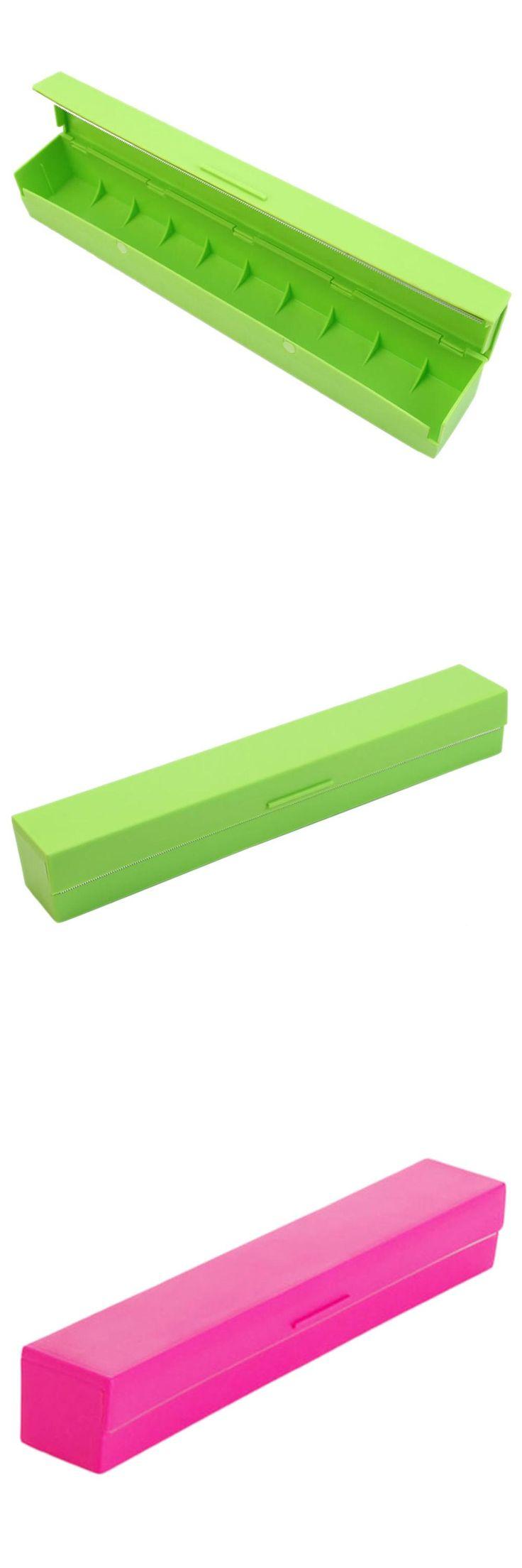 [Visit to Buy] Plastic Kitchen Foil And Cling Film Wrap Dispenser Cutter Storage Holder #Advertisement