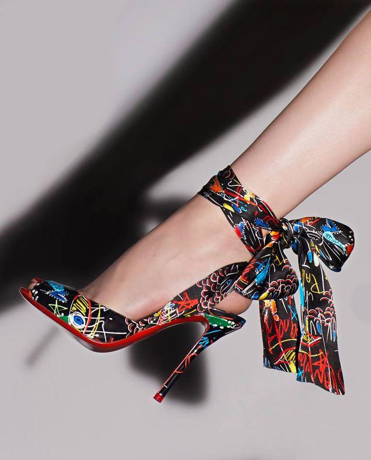 Christian Louboutin Jersey Vamp | Buy ➜ https://shoespost.com/christian-louboutin-jersey-vamp/