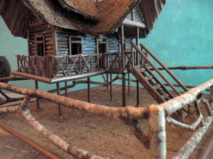 Miniature Traditional Homes Rumah Gadang Minangkabau Craft by RiKeCraft on Etsy