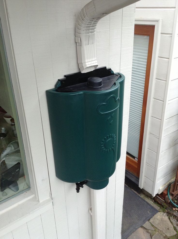 hook up rain barrel downspout With this downspout diverter, you can send water right to your rain barrel automatic here's what you need to set up your own rain-harvesting system: 1.
