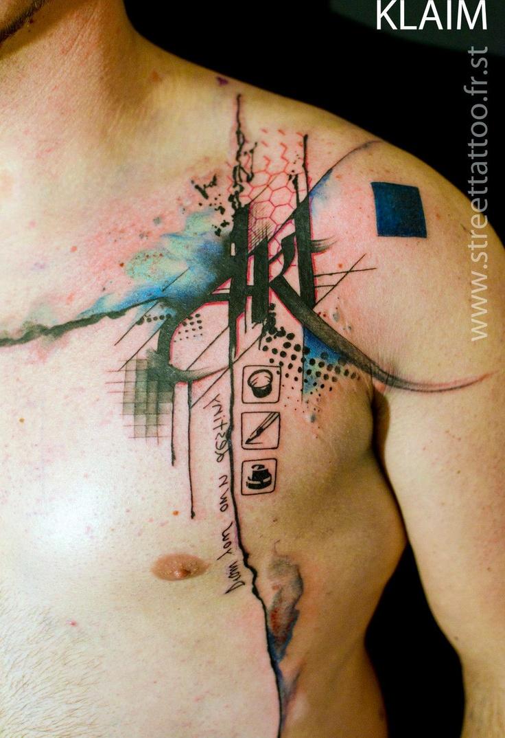 Street Tattoo    Avec Klaim À Franconville, Ile-de-France