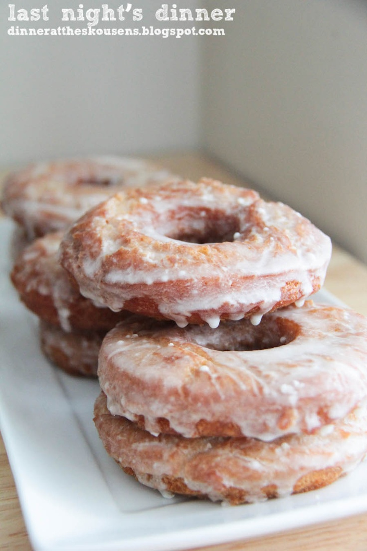 Apple cider #donuts with browned butter icing- looks delicious! #recipes