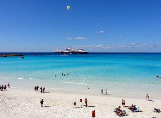 A beautiful day at Half Moon Cay. #HMC #Caribbean