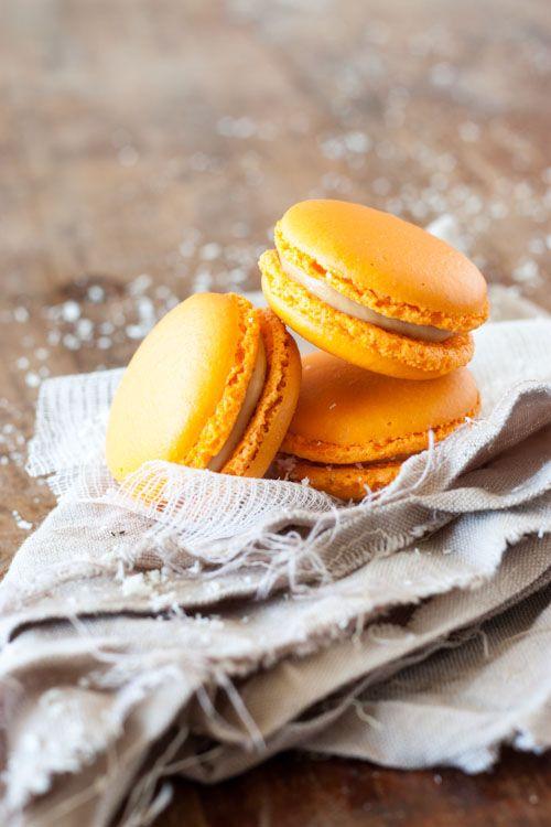 macarons dulcey mangue coco