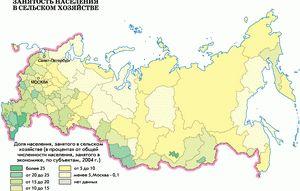Географические сведения о России